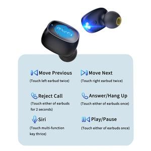 Image 2 - AWEI T13 T10C TWS Wireless Bluetooth Kopfhörer Kopfhörer Sport Headset Ohrhörer Mit Mikrofon HD Stereo Für Xiaomi