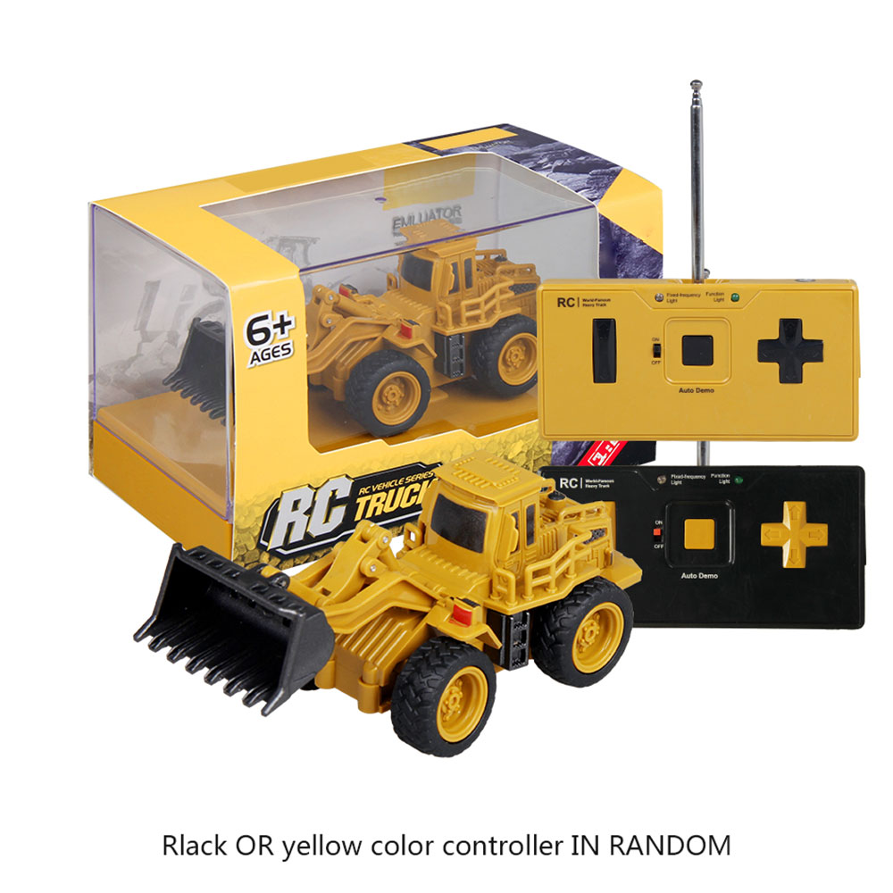 Remote control bulldozer rc truck toy remote control dump truck for children crane bulldozer electric construction toy boys gift