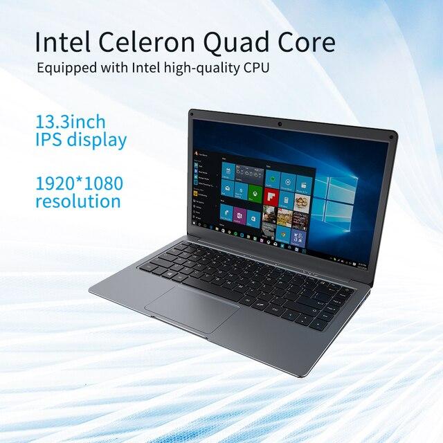 Jumper EZbook X3 Intel Celeron Quad Core 8GB 128GB Notebook Win 10 Laptop 13.3 Inch 1920*1080 IPS Screen 2.4G/5G WiFi Computer 3