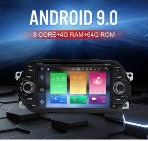 "Image 2 - 4G RAM 7"" Android 9.0 Car DVD Player for Fiat Tipo Egea 2015 2016 2017 Car Stereo GPS Navigation RDS Radio FM Wifi Multimedia"