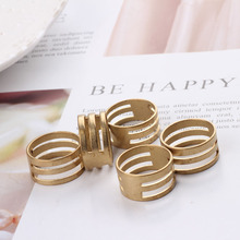 10pcs Diy opening ring single-loop opening and closing device copper ring hanging ring hand jewelry beads tool accessories