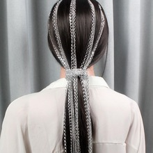 New Extension Chain Silver Plating No Fading Best Selling Headwear Head BB Clip Hair Punk Pins Accessories
