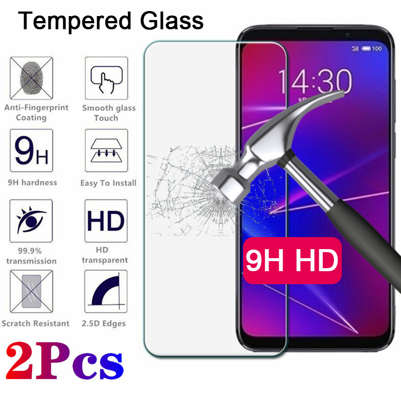 2 Pieces Protective Glass For Meizu M5C M5S M3S M5 M3 Note M2 HD Tempered Glass For Meizu M6 Note M6S M6T Screen Protector Film