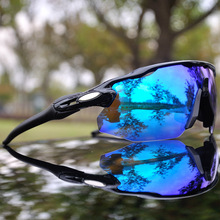 4 Lens Men Polarized Cycling Glasses Mountain Bike Cycling Goggles UV400 Outdoor Sports