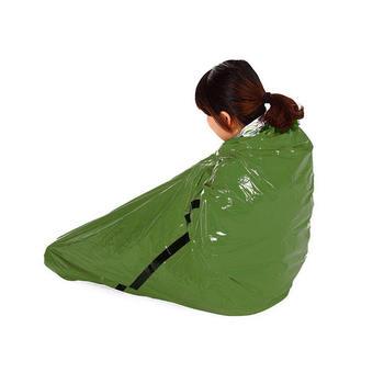 Zielony odkryty na kemping i podróż prosty śpiwór folia aluminiowa aby utrzymać ciepło i ciepło koc pierwszej pomocy tanie i dobre opinie [0℃ ~-10℃] Spleciony pojedynczy śpiwór Dla osób dorosłych Standard (dla osób o wzroście do 1 8 m) Wiosna i jesień