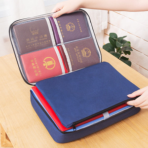 Large Capacity Waterproof Document Bags Multifunctional Home Travel Organizer Holder School Office Business File Folder Supply