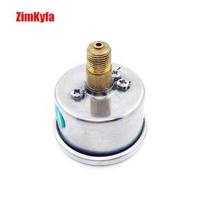 Image 5 - 40MPA / 6000psi A Mano PCP Pompa di Aria Manometro Doppio Gamma Manometro di Alta Pressione M10 * 1.0