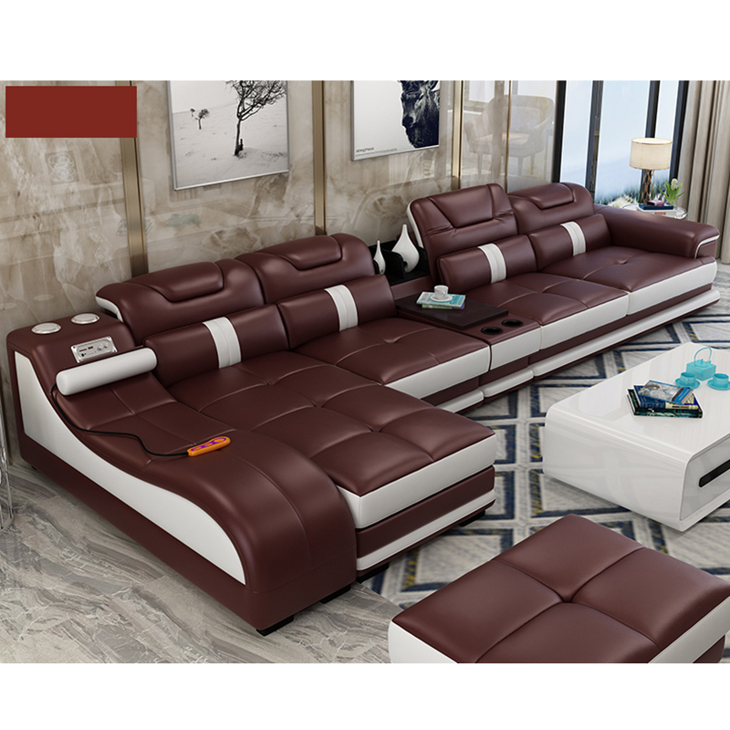 Living Room Sofa Set Chaise Lounge