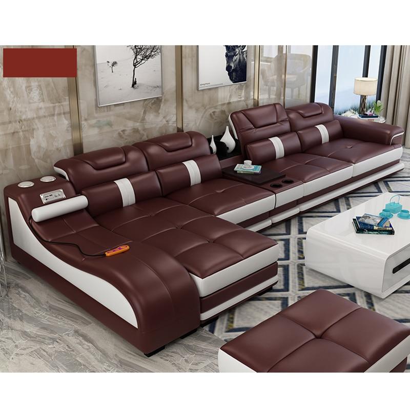 Living Room Sofa Set Chaise Lounge