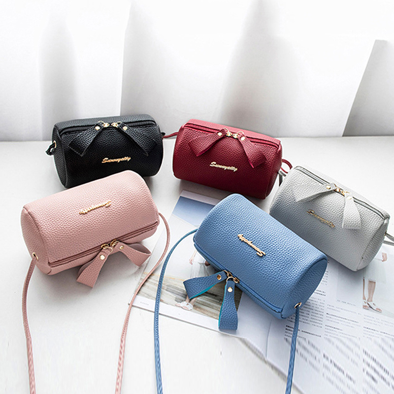 Women PU Leather Mini Shoulder Bag Ladies Crossbody Bag Tote Messenger Satchel Purses Luxury Handbags Women Bags Designer