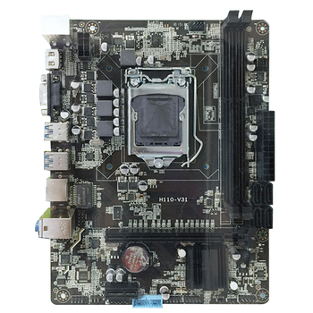 H110 Dual Channel Professional Desktop DDR3 High Compatibility Interface Computer Motherboard Accessories Home Office Main CPU