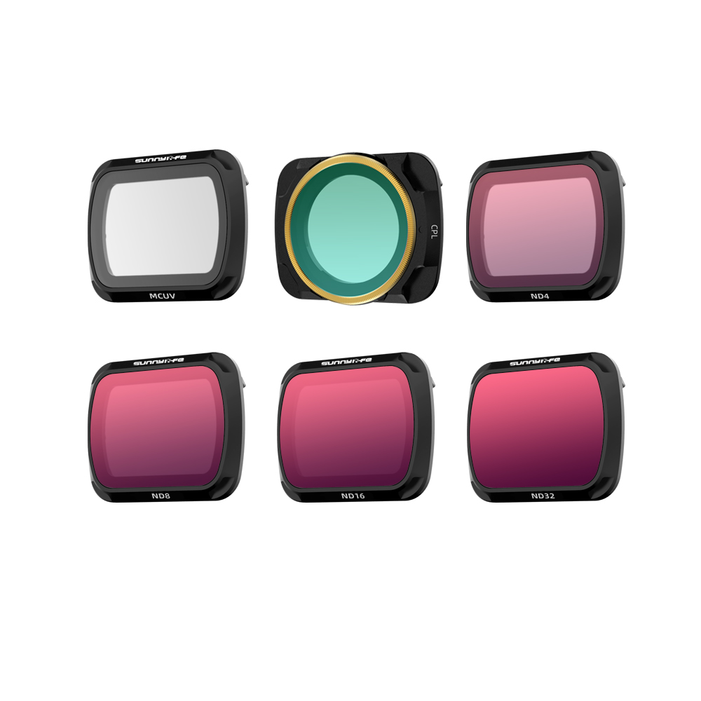 Professional Adjustable MCUV CPL ND//PL Lens Filter Kit for  Mavic Air 2 Drone