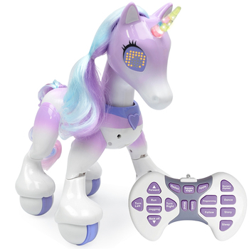 Electric Intelligent Horse Electronic Pet Remote Control Unicorn Childrens New Robot Touch Sensitive Educational Toys