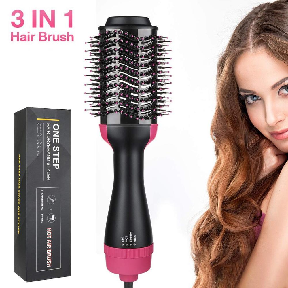 Electric Hair Dryer Hair Dryer Curling Iron Rotating Brush Hair Dryer Professional Styling Tools 2 In 1 Hot Air Brush