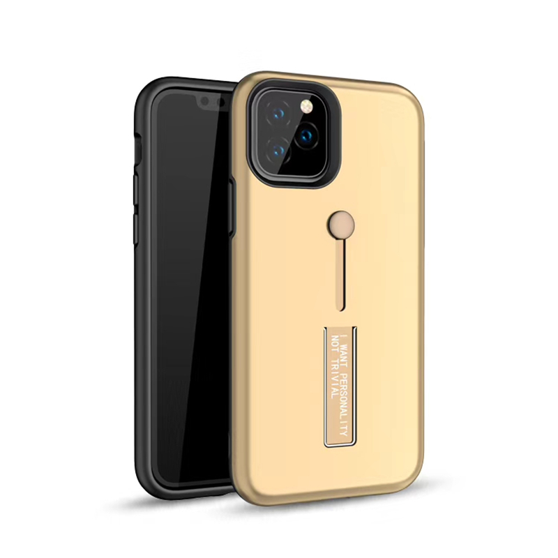 Hide Holder Bracket Finger Ring Case on for iPhone 11 Pro XI Max 2019 Case iPhone 7 8 6 6s Plus XS Max XR X Case Hard Back Cover in Fitted Cases from Cellphones Telecommunications