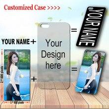 Aangepaste Telefoon Case Cover Uw Foto Naam Voor Iphone Tecno Infinix Samsung Oppo Xiaomi Huawei Asus Lg Htc Moto Wiko doogee Zte