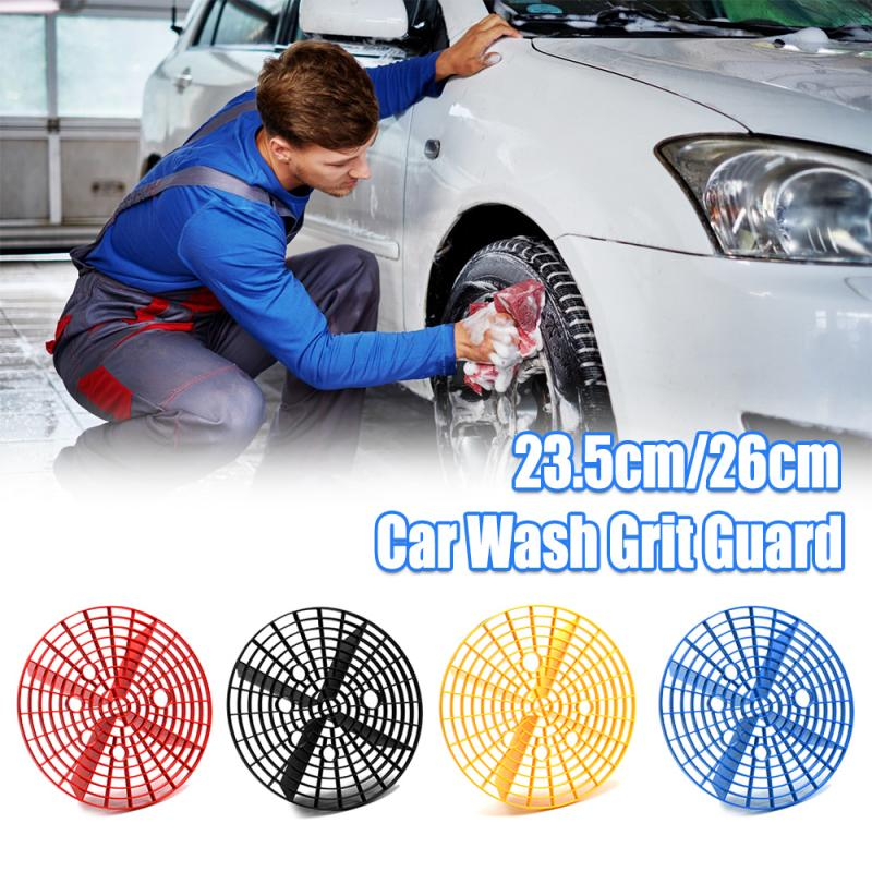 23cm/26cm Car Wash Grit Guard Insert Washboard Water Bucket Filter Scratch Dirt Filter Car Cleaning Tool Wash Car Accessories