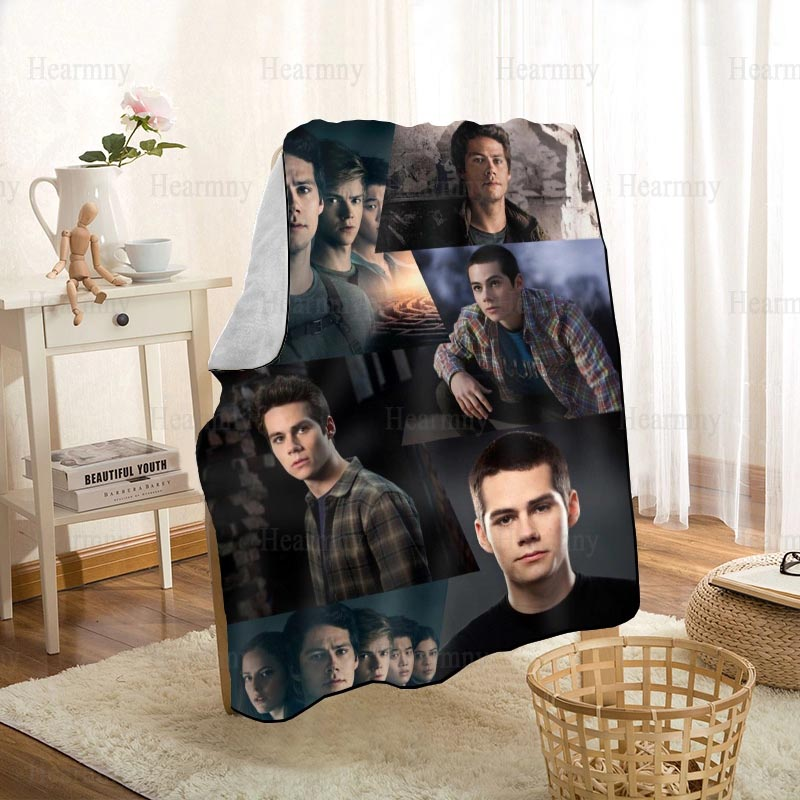 New Arrival Dylan O'Brien Blankets Printing Soft Blanket Throw On Home/Sofa/Bedding Portable Adult Travel Cover Blanket 1208p