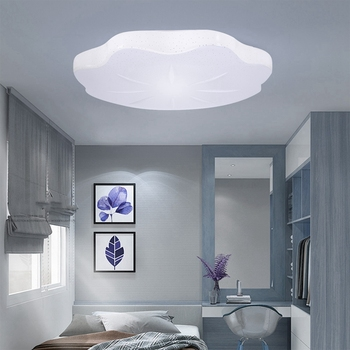 60W Rgb Ceiling Light WiFi Voice Control Living Bedroom Smart Ceiling Light for Amazon Alexa for Google Home, AC85-265V