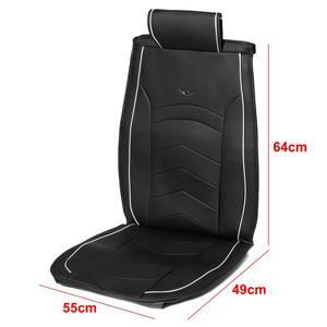 Image 5 - Car Seat Cover PU Leather Cushion Protector SUV for lada VESTA SAMARA for ford FOCUS for tesla Modle 3 Modle X