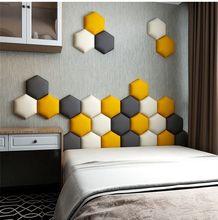 Cabecero de cama para dormitorio, decoración de pared de Tatami, tablero autoadhesivo, Cabecero de fondo, Cabecero, paneles delanteros