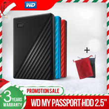 Western Digital WD My Passport™ 1TB 2TB 4TB External Hard Drive Disk WD Backup™ software and password protection 3 year warranty