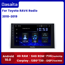 "Dasaita 10.2 ""IPS bildschirm Auto Multimedia Android 10,0 für Toyota RAV4 Radio 2018 2019 TDA7850 GPS Bluetooth Auto Stereo MAX10"