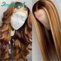 Rosabeauty, 28, 30 дюймов, 13x4, кружевные передние человеческие волосы, парики, предварительно выщипанные бразильские Прямые фронтальные парики для ...