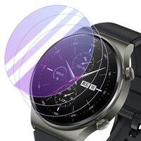 Pellicola proteggi schermo in vetro temperato rotondo 30.5-42mm per Samsung HUAWEI Garmin DW Sport Smart Watch pellicola protettiva per braccialetto