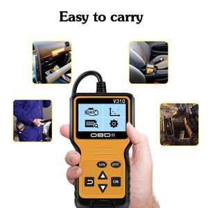 Image 4 - Chegada nova ferramenta de verificação do carro detector v310 scanner diagnóstico universal odb2 verificação do motor scanner obdii