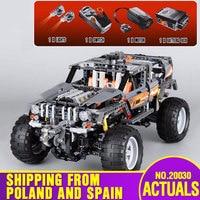 DHL 20030 Technic Ultimate Series The Off Roader Set Children Educational Building Blocks Bricks 8297 Kids Cars Toys Model Gifts