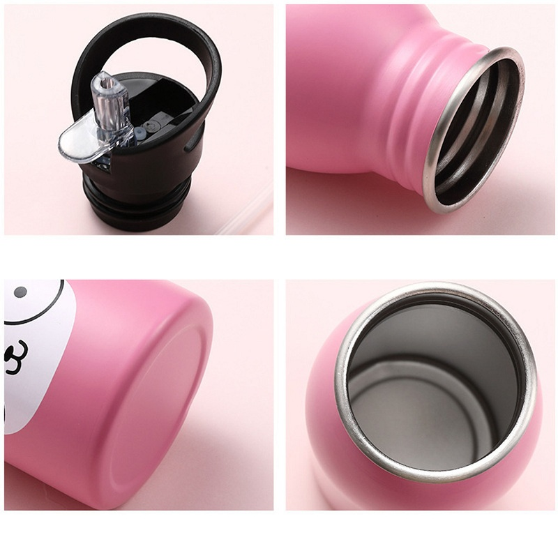 Portable Stainless Steel For Outdoor Sports Bottle Travel Camping Cold Kettle