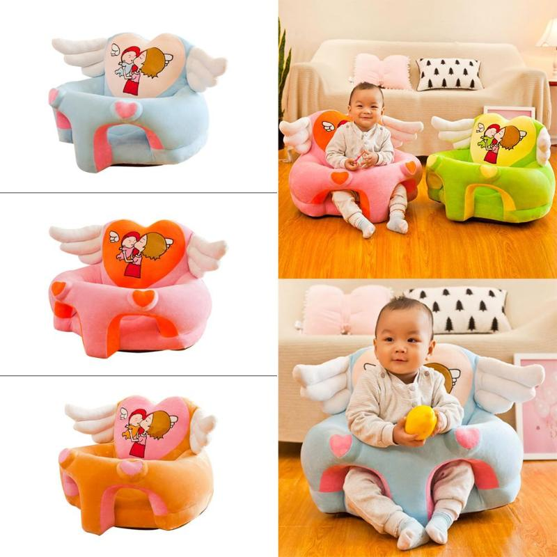 Cartoon Fall-proof Baby Seat Cover Safety And Reliability Washable Children Foldable Fashionable Environmental Sofa Chairs Cover
