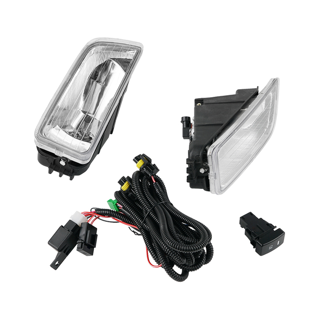 $ US $29.99 One Pair Fog Light H11 55W Clear w/ Switch Cables For Honda Accord 2003 2004 2005 2006 2007 4 Drs