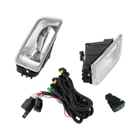 One Pair Fog Light H11 55W Clear w/ Switch Cables For Honda Accord 2003 2004 2005 2006 2007 4 Drs