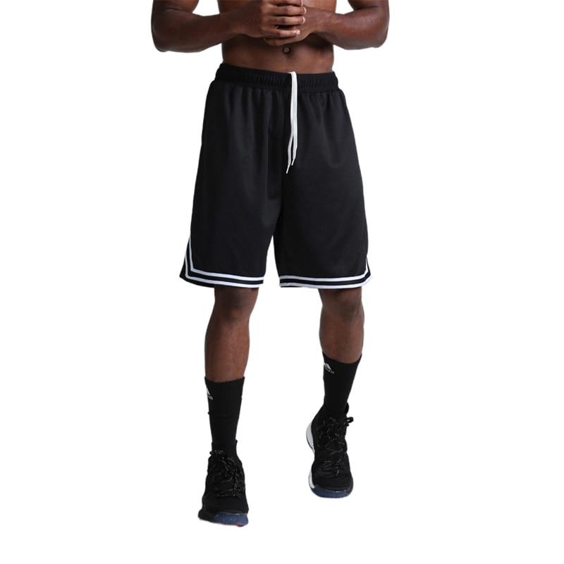 Short de Sport en cours d'exécution hommes Fitness musculation pantalon court été mince mâle basket-ball rayure formation Shorts décontracté