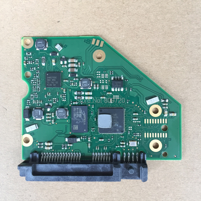Piezas de disco duro placa lógica PCB placa de circuito impreso 100788341 REV C para Seagate 3,5 SATA hdd 3T 4T 5T Recuperación de datos