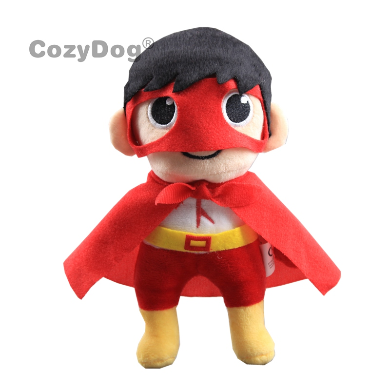 20cm Ryan Plush Stuffed Toys Ryan's World Moe Boy Plush Toys Doll Peluche Baby Kids Christmas Birthday Gift