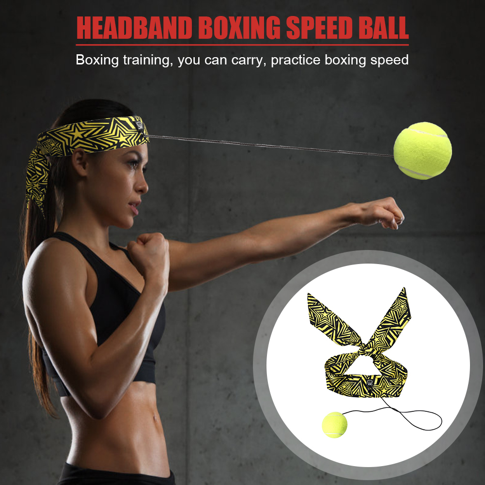 Venting Ball Fighting Training Decompression Pirate Headband Boxing Speed Ball for Indoor Exercise Sport Decoration