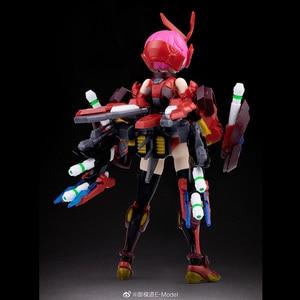 Image 5 - CMT Instock Dragon Momoko E Model HERACROSS And White Tiger A.t.k Girl 1/12 Scale Model Anime Mobile Suit Toys Figure