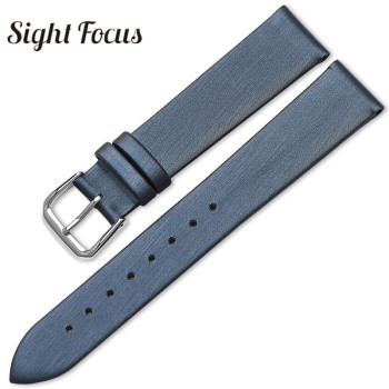 Brushed Satin Watch Bands 10mm 12mm 14mm 16mm 18mm 20mm Universal Watch Strap Brand Watchband for Karen Millen Women Watch Lady image