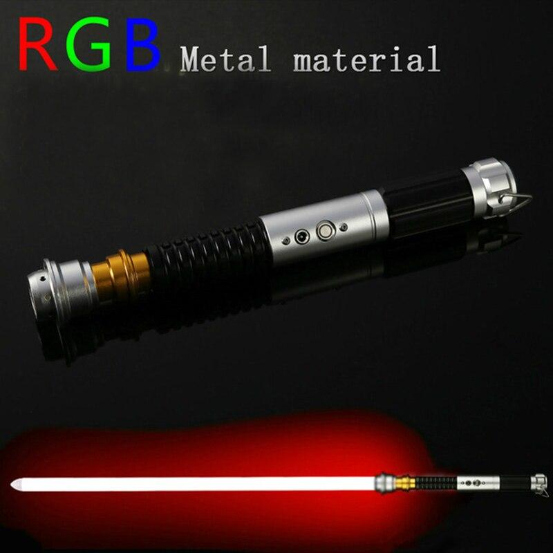 Oyuncaklar ve Hobi Ürünleri'ten Işıklı Oyuncaklar'de LGT QFR Metal Hilt Ağır Düello Obi wan Kenob Lightsaber gelen Yıldız Savaşları Elektronik'da  Grup 1
