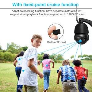 Image 3 - 5MP 3MP Wireless Wifi Securityกล้องกลางแจ้ง1080P HD 30Xซูมออปติคอลกล้องIP Home 80M IR Night vision ONVIFการเฝ้าระวัง