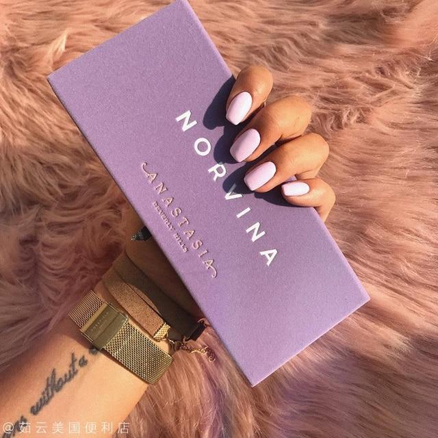 Anastasia Beverly Hills ABH Norvina Eye Shadow Purple Pallete Of Eyeshadows Shimmer Eyeshadow Palette 14 Colors