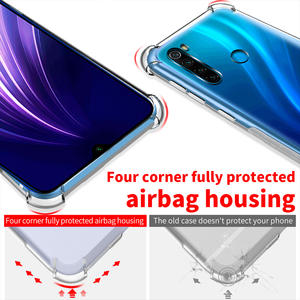 Phone-Case Xiaomi Redmi Shockproof-Cover Transparent Note7 for Airbag K20-7a Ani-Knock