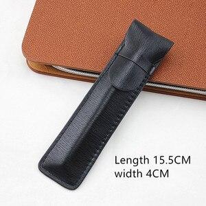 Image 4 - Da Cao cấp Đựng Bút máy Ốp Lưng/Túi cho Đĩa Đơn Bút Cà Phê Bút/Túi
