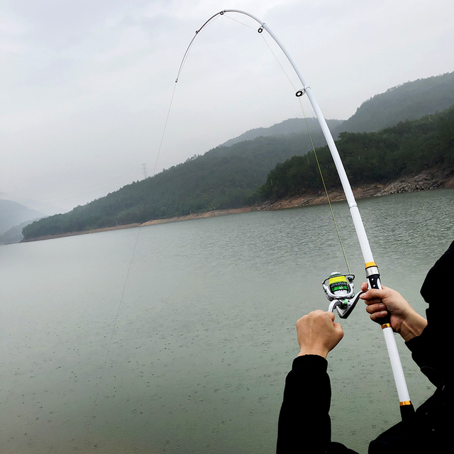 2.1m -3.6m carp feeder hard frp carbon fiber telescopic fishing rod pole