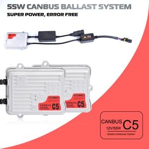 Image 4 - AC 55W البدء السريع في Canbus الصابورة HID زينون تحويل مجموعة مصابيح سيارة 12V H1 H3 H7 H11 9005 HB3 9006 HB4 H4 4300K 6000K 8000K