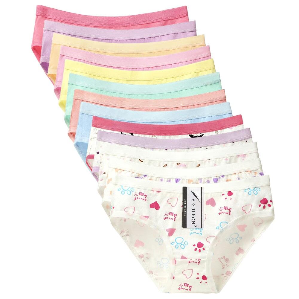 7PCS Underwear Women Ladies   Panties   Plus Size Cotton Pants Large Womens Girls   Panties     Panty   Low-Rise Briefs Calcinha M~4XL tanga