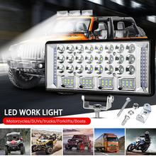 цена на 6 inch 204W LED Work Light Combo Beam For Offroad Car 4WD Truck Tractor Boat Trailer SUV 12 24V Spot Flood 6'' LED Driving Light
